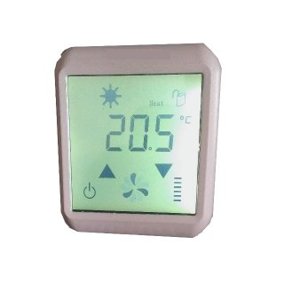 Wand Thermostat LCD Display  mit Touchpanel D3